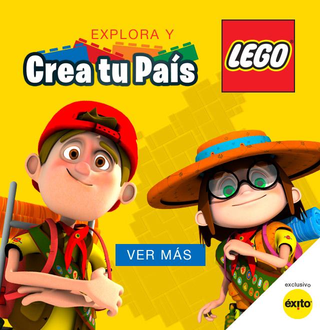 Explora y crea tu país Lego