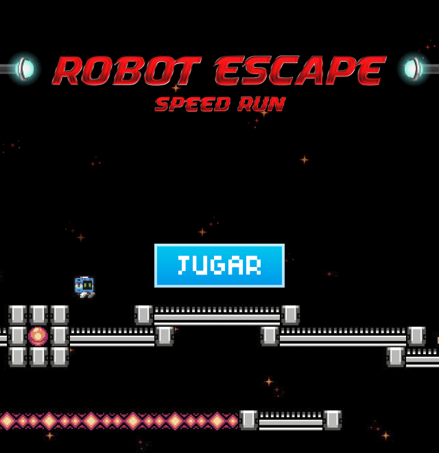 Robot escape - Banner